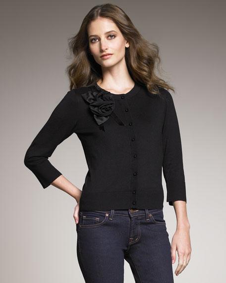 rosie cardigan, black