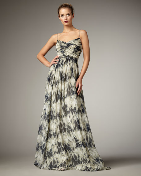 Aliana Printed Gown