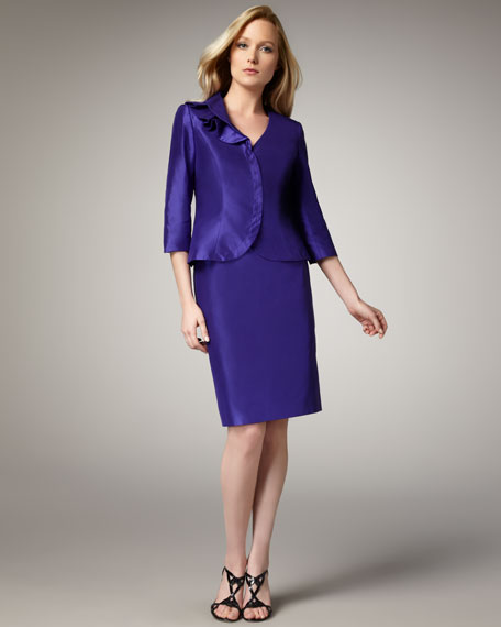 Bigio Collection Skirt Suit