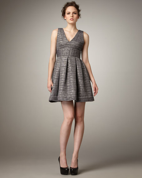 V-Neck Party Dress