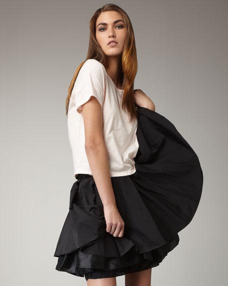 Pratte Taffeta Skirt
