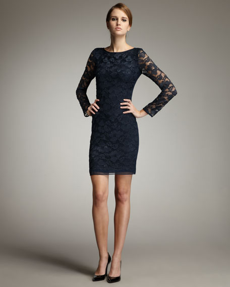 Zarita Lace Dress, Deep Teal