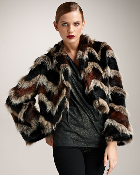 Keith Faux-Fur Jacket