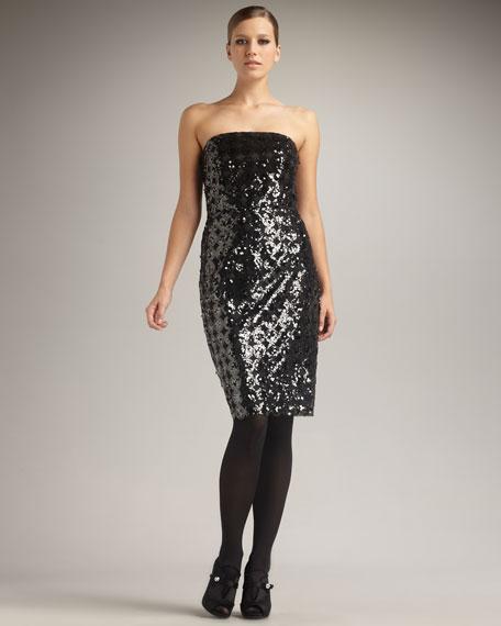 Wiggle Strapless Dress