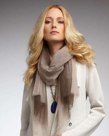 Featherweight Ombre Wool Wrap