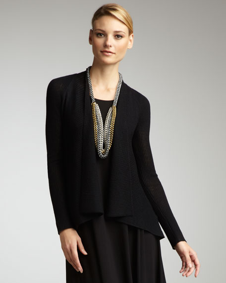 WMNS WW SHORT CARDIGAN