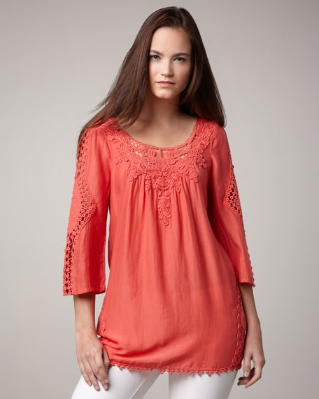 Harbor Crochet Tunic, Women's
