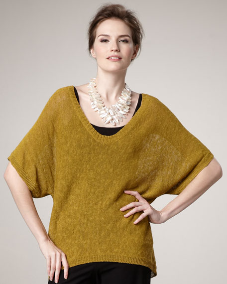 Knit Oval Top