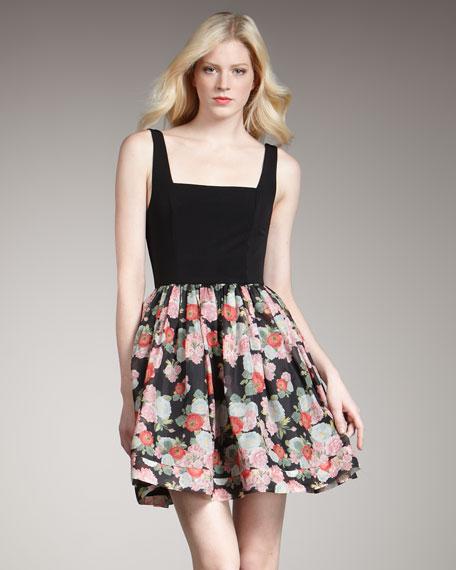 Coco Floral-Print Dress
