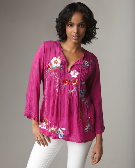 Molly Embroidered Tunic, Women's