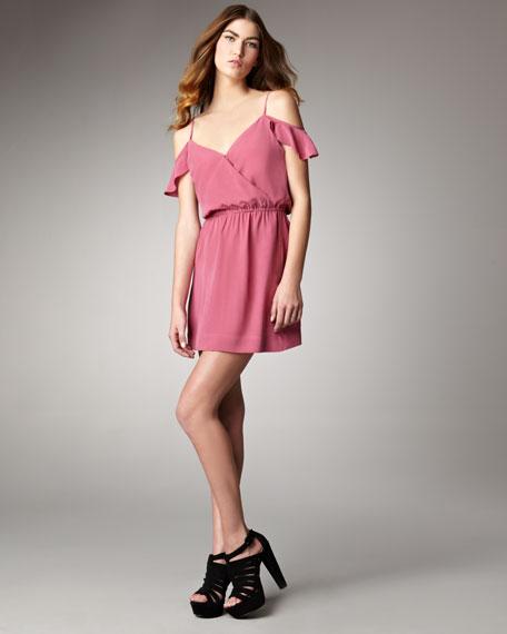Sari Off-the-Shoulder Dress