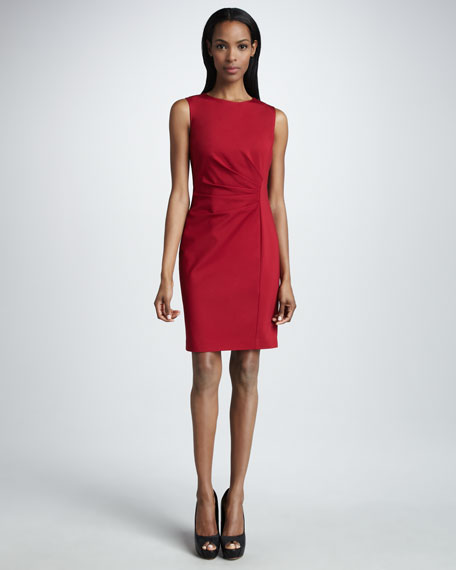 Toni Fitted Jersey Dress