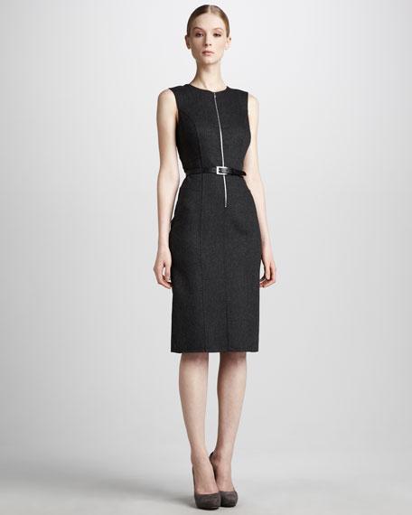 Flannel Zip Dress