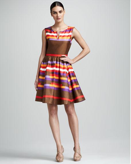 kerrigan striped dress