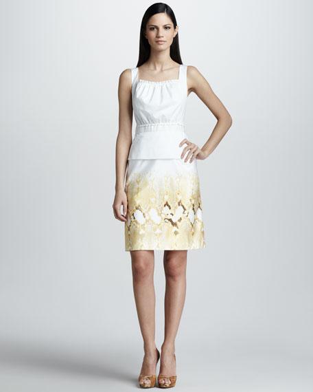 Brook Square-Neckline Dress