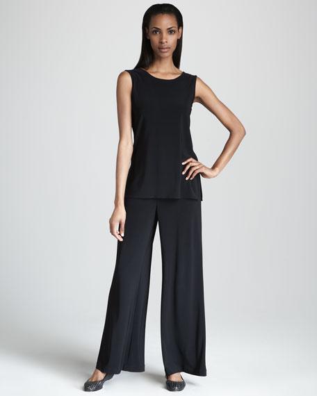 Basic Wide-Leg Pants