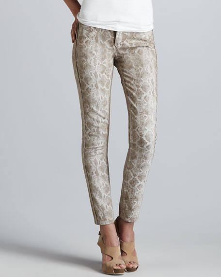 Detour Cafe Snake/Latte Reversible Leggings
