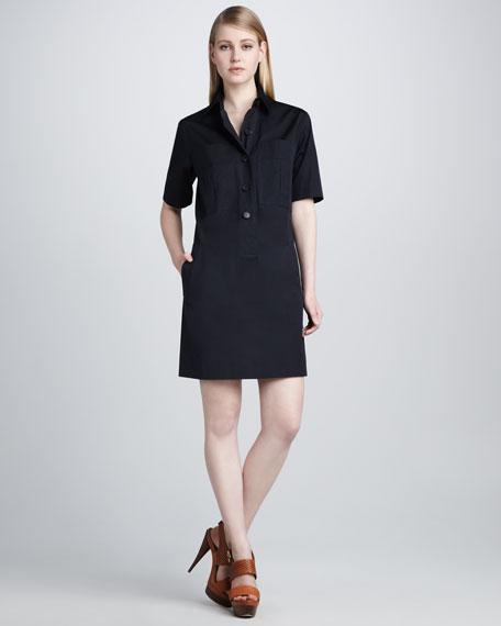 Poplin Shirtdress
