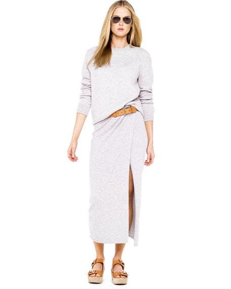 Cashmere Sarong Skirt