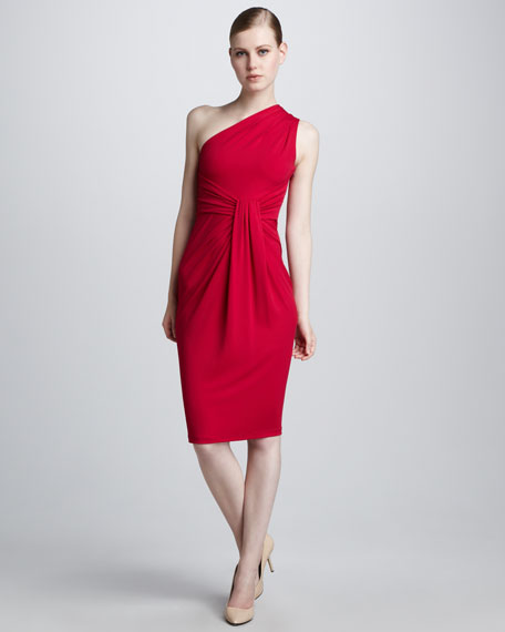 Looped Jersey Dress
