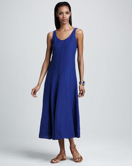 Linen Tie-Hem Convertible Dress