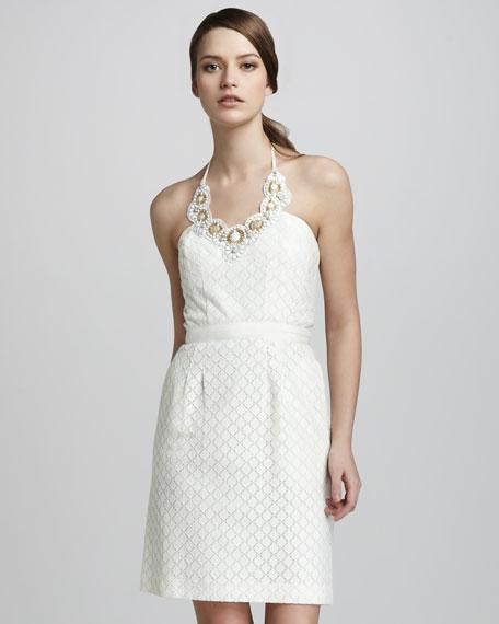 Nadja Jacquard Dress