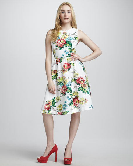 Floral Gwendoline Dress