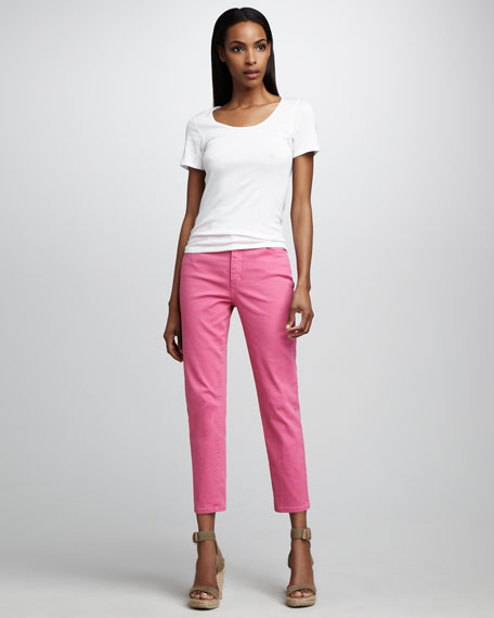 Audriana Skinny Cropped Jeans, Petite