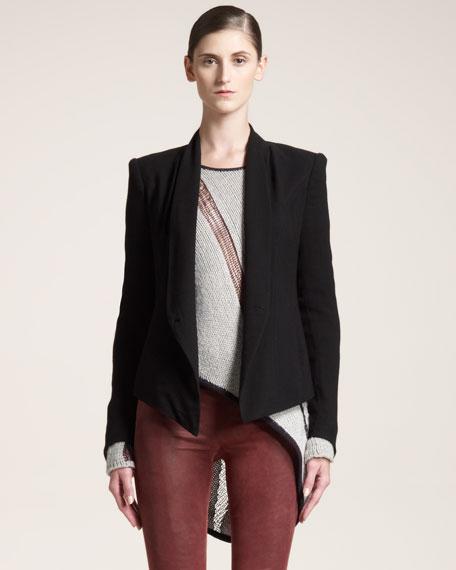 Prism Shawl-Collar Jacket
