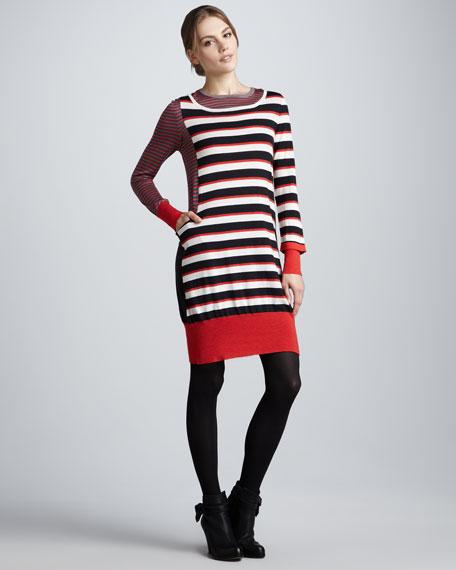 Yaani Striped Sweaterdress
