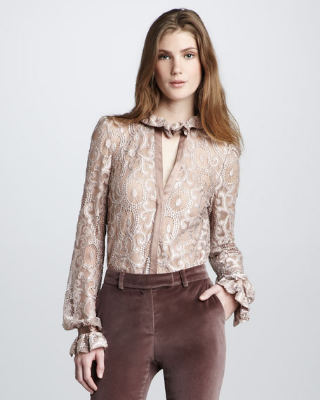 Sutton Lace Top