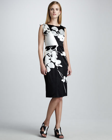 Luanna Two-Tone Dress