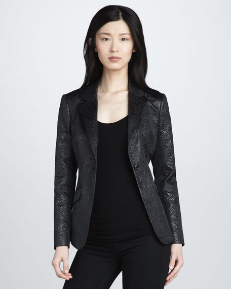 Avery Brocade Blazer