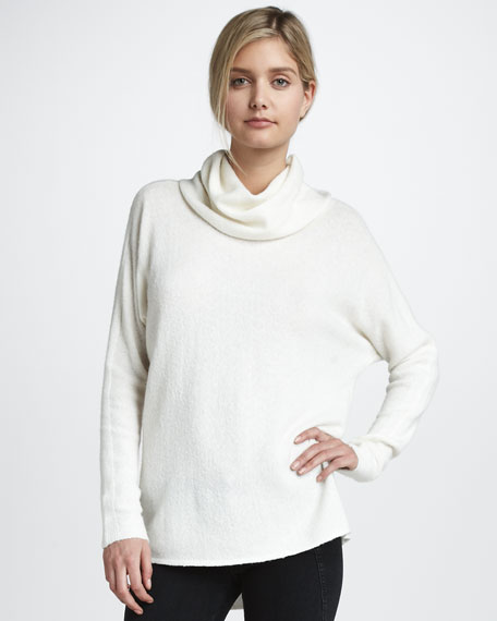 Luxury Cowl-Neck Sweater