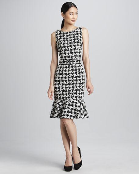 Houndstooth Dress
