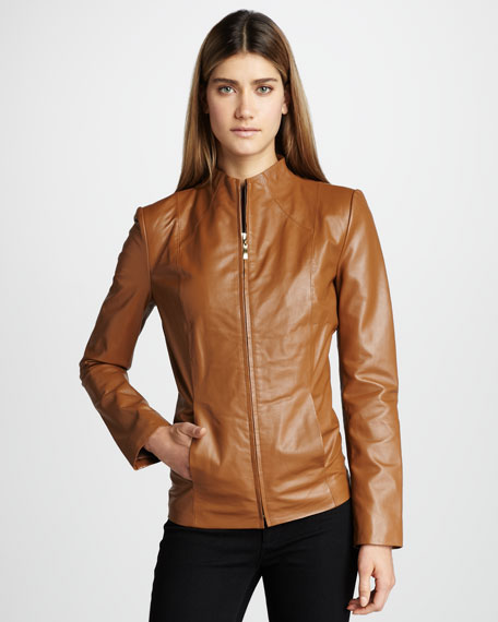 Leather Scuba Jacket