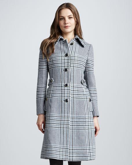 Virginia Houndstooth Coat