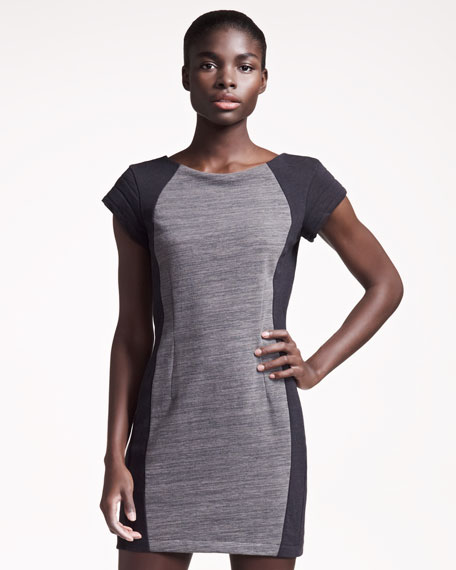 Terry Moto Pima Dress