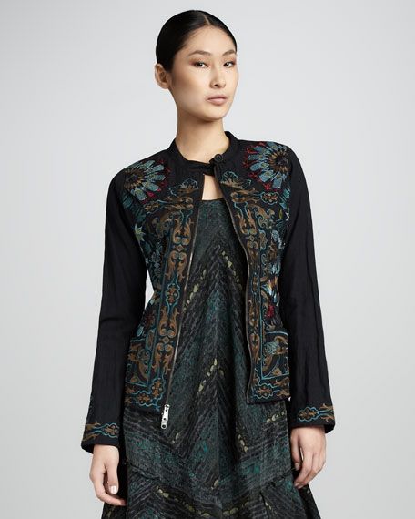 Mosaic Embroidered Jacket