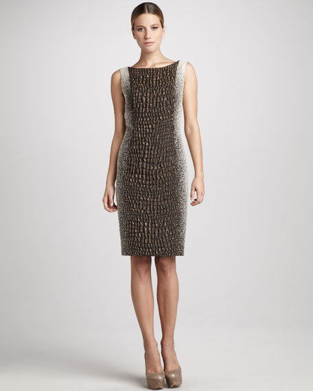 Faith Textured Dress