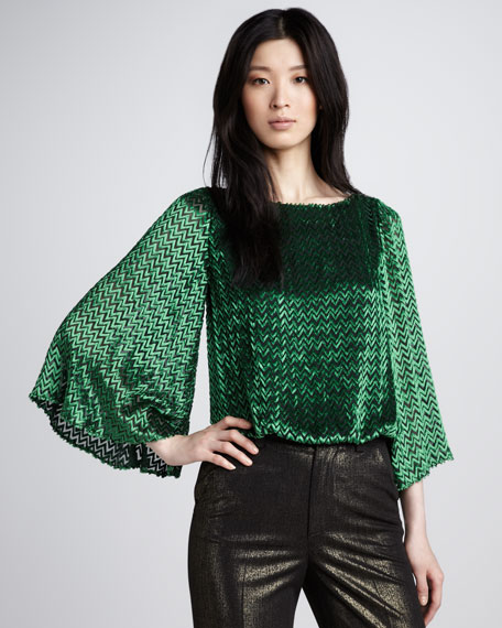Lucia Bell-Sleeve Top