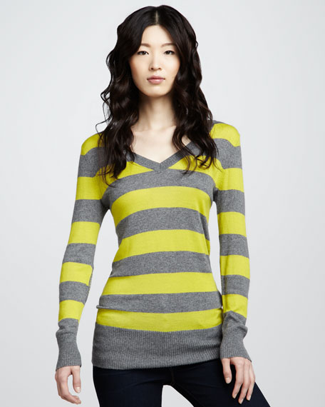 Bistro Striped Sweater