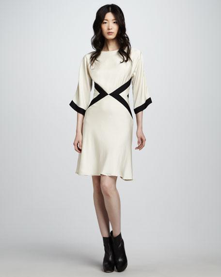 Bex Contrast Dress