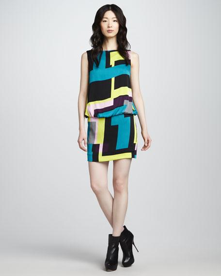Gianna Blouson Dress