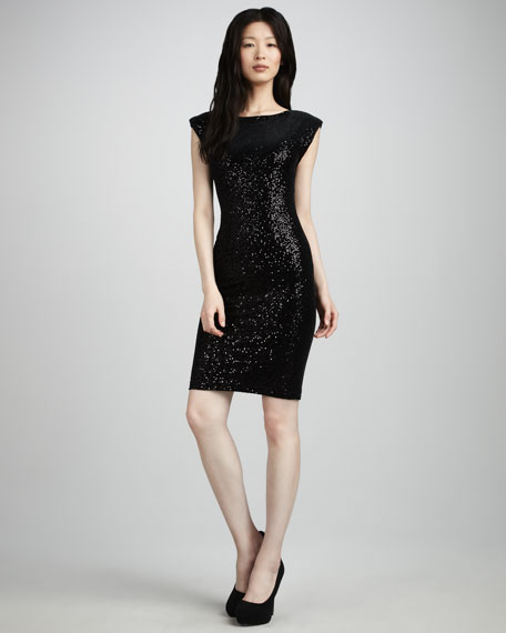 Libbie Sequined Dress