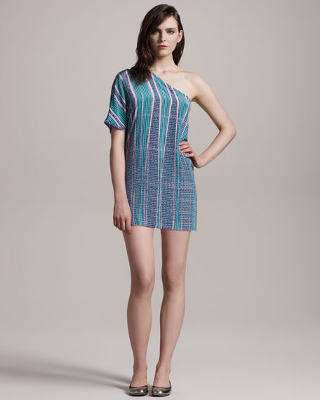Crepe de Chine Tunic Dress