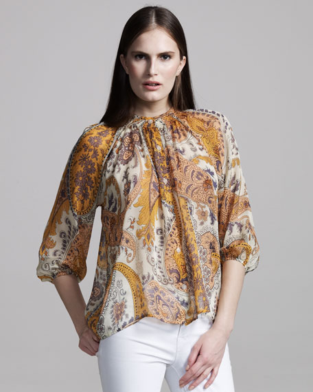 The Blouse, Frilly Laundry Line