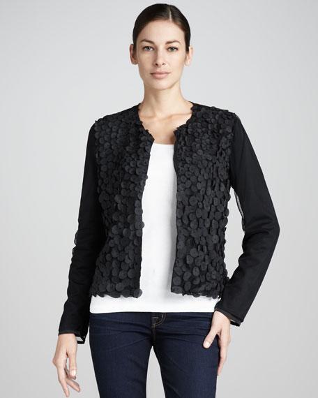 Sleek-Style Petal Jacket, Petite