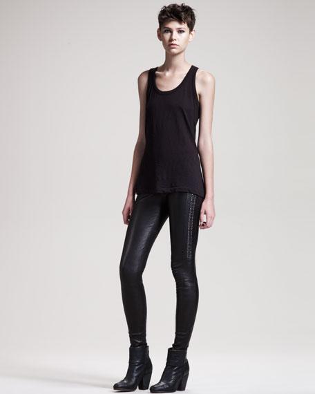 Renard Leather Leggings