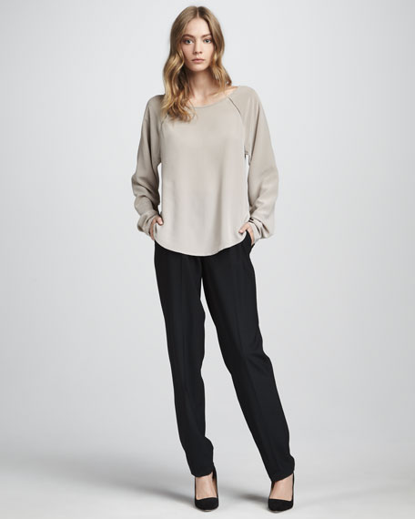 Relaxed Pants, Black